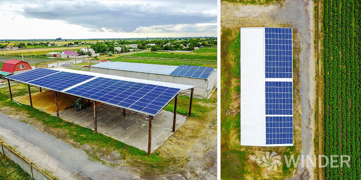 Сетевая солнечная система под зеленый тариф для юридических лиц