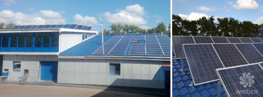 Сетевая солнечная система под зеленый тариф для юридических лиц Житомирская обл.