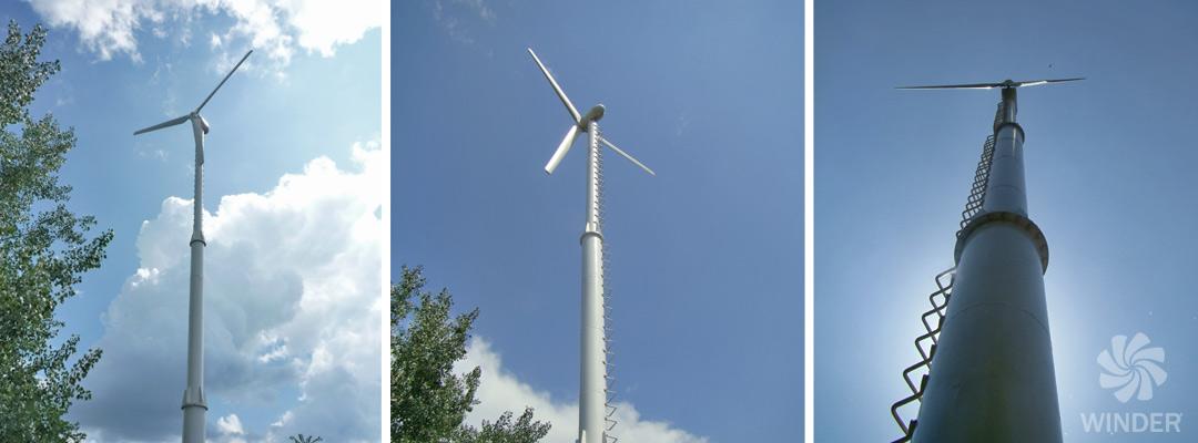Ветрогенератор WINDER W8 10 кВт