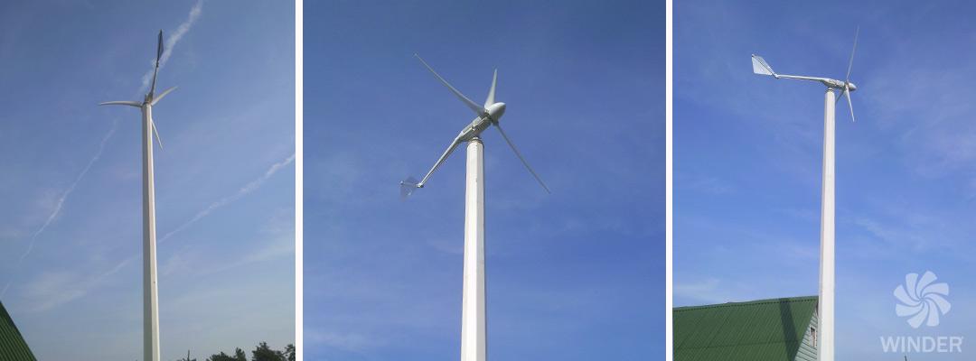 Ветрогенератор 1,2 кВт с. Перевиз