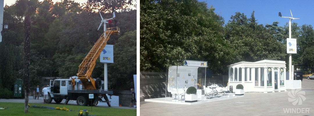 Ветрогенератор WINDER T12 1,2 кВт