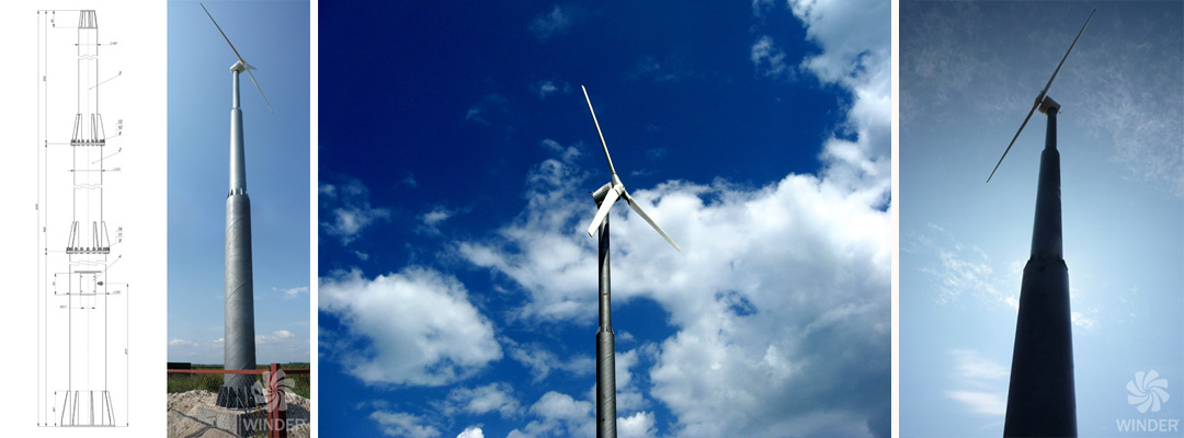 Ветрогенератор WINDER W10 20 кВт