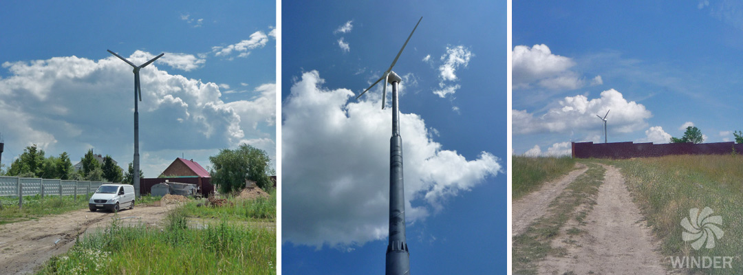 Ветрогенератор 20 кВт с. Хлепча