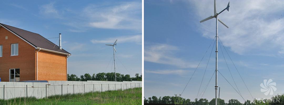 Ветрогенератор WINDER W4 2 кВт