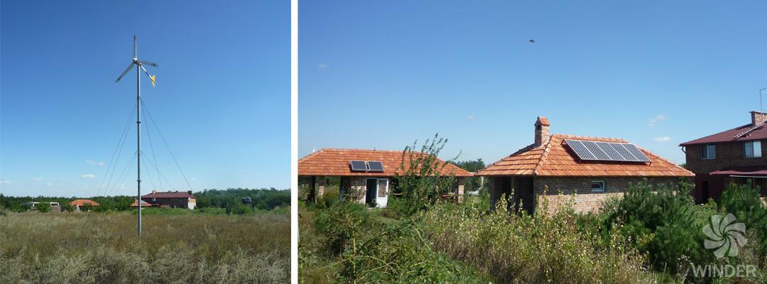 Ветрогенератор 2 кВт Приингульский природный заповедник