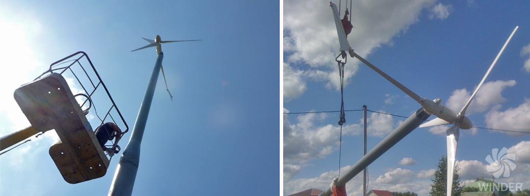 Ветрогенератор WINDER T23 2.3 кВт