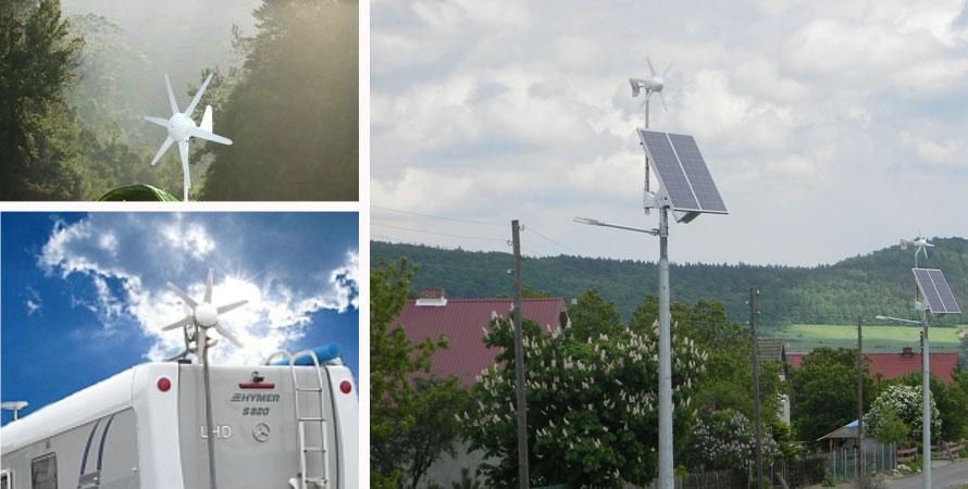 wind turbine 100W photo
