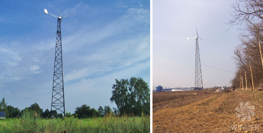 wind turbine 10kW photo