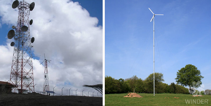 wind turbine 10kW fortis alize photo