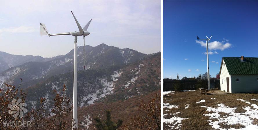 wind turbine 2 kW photo