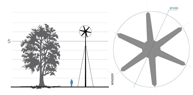 Ветрогенератор WINDER Т01